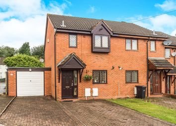 Thumbnail 2 bed semi-detached house for sale in Brewery Street, Dudley