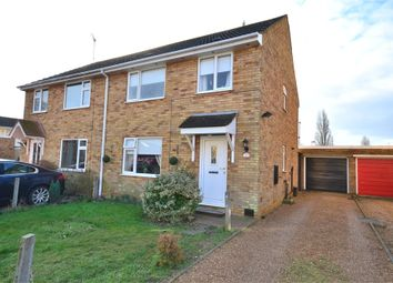 Thumbnail 3 bedroom semi-detached house to rent in Beaumont Way, King's Lynn