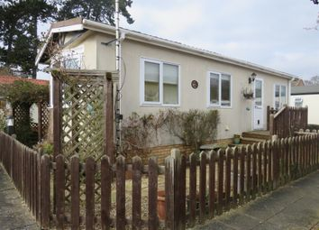 Thumbnail 1 bed mobile/park home for sale in The Paddock, Westgate Park, Sleaford