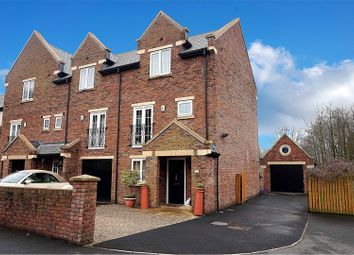 Thumbnail 4 bed end terrace house for sale in The Moorings, Garstang, Preston
