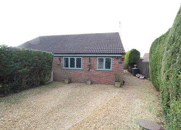 Thumbnail 2 bed semi-detached bungalow for sale in Bennett Close, Watlington, King's Lynn, Norfolk