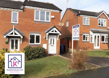 Thumbnail 2 bed semi-detached house to rent in Deavall Way, Cannock