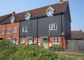 Thumbnail 4 bed end terrace house for sale in Deyley Way, Ashford