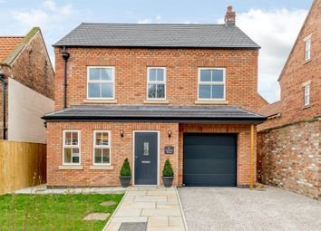 Thumbnail 4 bed detached house for sale in Church Lane, Wheldrake, York