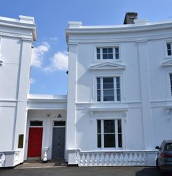 Thumbnail 6 bedroom terraced house for sale in The Quadrant, St. Leonards, Exeter
