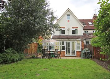 Thumbnail 4 bed semi-detached house for sale in New Haw, Addlestone, Surrey