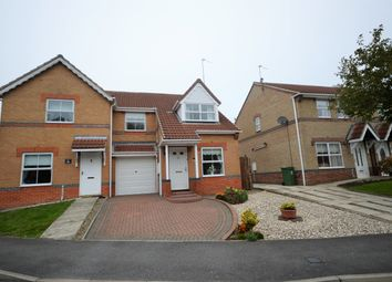 Thumbnail 3 bed semi-detached house to rent in Milburn Way, Howden Le Wear, Crook