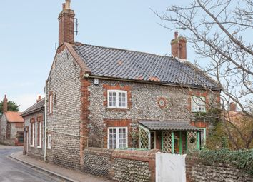 Thumbnail 3 bed semi-detached house for sale in Church Cottages, Cromer Road, West Runton, Cromer