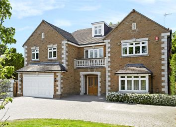 Thumbnail 5 bed detached house for sale in Burn Close, Oxshott, Leatherhead, Surrey