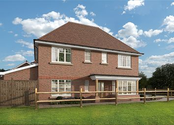 Thumbnail 4 bed detached house for sale in Hitches Lane, Fleet
