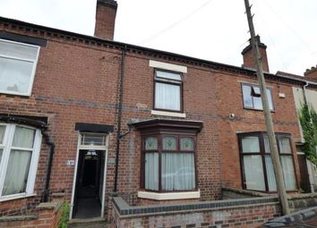 Thumbnail 3 bed terraced house for sale in Wyggeston Street, Burton-On-Trent, Staffordshire