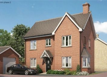 Thumbnail 3 bed end terrace house for sale in The Whitworth At Chiswell Place, New Cardington, Bedfordshire