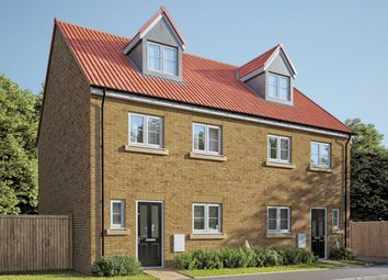 "Thumbnail 4 bed semi-detached house for sale in ""The Aslin"" at Fenwick Road, Scartho Top, Grimsby"