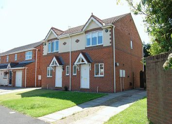 Thumbnail 2 bed semi-detached house to rent in Langton Drive, Cramlington