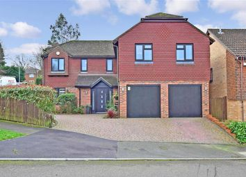 Thumbnail 5 bed detached house for sale in Abigail Crescent, Walderslade, Chatham, Kent
