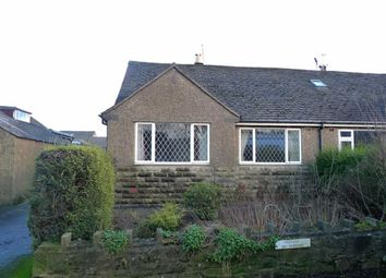 Thumbnail 3 bed semi-detached bungalow for sale in Hallsteads, Dove Holes, Derbyshire