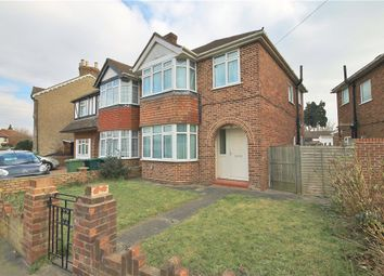 Thumbnail 3 bed semi-detached house for sale in Oaks Road, Staines-Upon-Thames, Surrey
