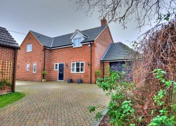 Thumbnail 3 bed detached house for sale in All Saints Close, Wymondham