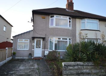 Thumbnail 3 bed semi-detached house to rent in Glenburn Avenue, Eastham, Wirral