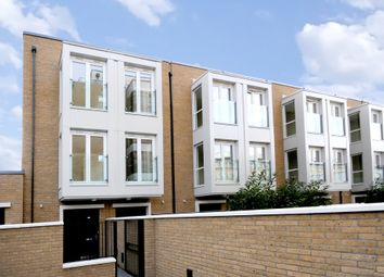Thumbnail 3 bed town house for sale in Bromyard Avenue, London