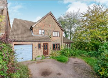Thumbnail 4 bed detached house for sale in Wren Close, Badger Farm, Winchester