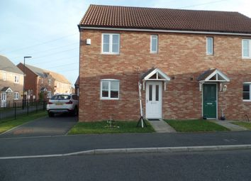 Thumbnail 3 bed semi-detached house to rent in Heathfield, Northumberland Park