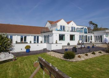 Thumbnail 5 bed detached house for sale in Beach Road, Swanbridge, Penarth
