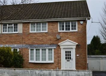 Thumbnail 3 bed semi-detached house for sale in Downleaze, Swansea