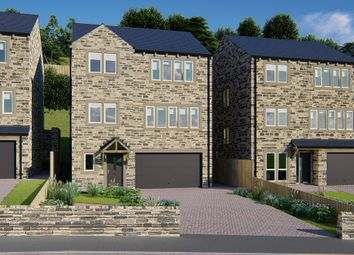 Thumbnail 5 bed detached house for sale in Thirstin Mills, Thirstin Road, Honley