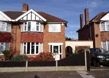 Thumbnail 3 bed semi-detached house for sale in Sedgebrook Road, Leicester, Leicestershire