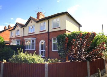 Thumbnail 4 bed semi-detached house for sale in Hillfield Gardens, Nantwich