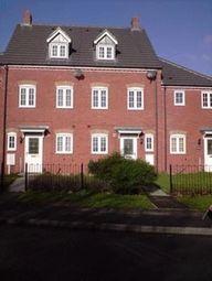 Thumbnail 3 bed terraced house to rent in Ravenstone Court, Hucknall, Nottingham