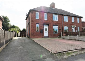Thumbnail 3 bed semi-detached house for sale in Cross Road, Rugeley