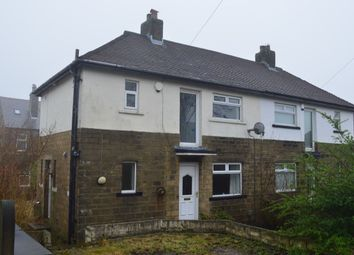 Thumbnail 2 bedroom semi-detached house for sale in Dalmeny Close, Crosland Moor, Huddersfield