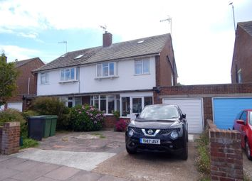 Thumbnail 5 bed semi-detached house to rent in Bridgemere Road, Eastbourne