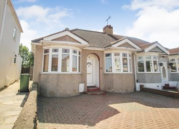 Thumbnail 3 bed semi-detached bungalow for sale in Lawns Way, Collier Row, Romford