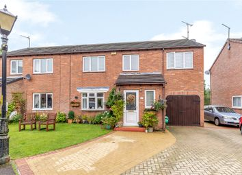 Thumbnail 3 bed semi-detached house for sale in Pottery Bank Court, Morpeth, Northumberland