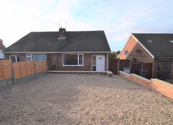 Thumbnail 2 bed semi-detached bungalow for sale in Ocean Road, Thurnby Lodge, Leicester