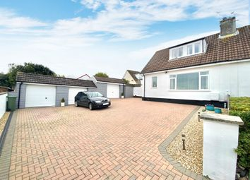 Thumbnail 2 bed semi-detached house for sale in Gwel-An-Mor, St. Austell