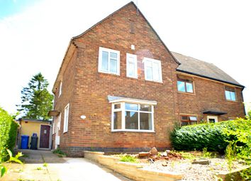 Thumbnail 3 bed semi-detached house to rent in Ridgeway, Chellaston, Derby