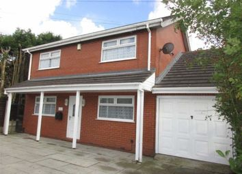 Thumbnail 4 bed detached house for sale in Warrington Road, Leigh