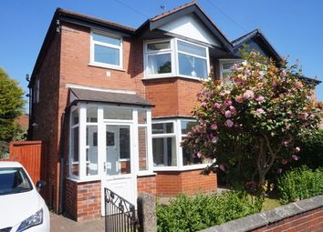 Thumbnail 3 bedroom property to rent in Wilton Avenue, Manchester