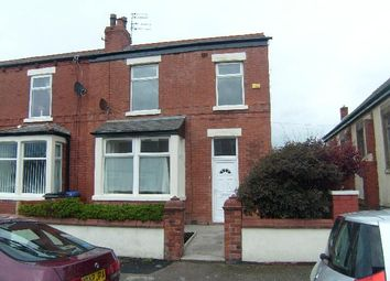 Thumbnail 3 bedroom end terrace house to rent in Queen Victoria Road, Blackpool