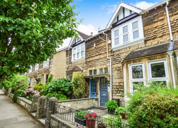 Thumbnail 3 bed terraced house for sale in Rockliffe Road, Bathwick, Bath