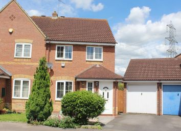 Thumbnail 3 bed semi-detached house to rent in Ladygrove, Didcot