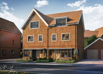 "Thumbnail 4 bedroom property for sale in ""Darwin"" at Ambler Drive, Arborfield, Reading"