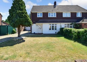Thumbnail 3 bed semi-detached house for sale in Sycamore Drive, Greenacres, Aylesford, Kent