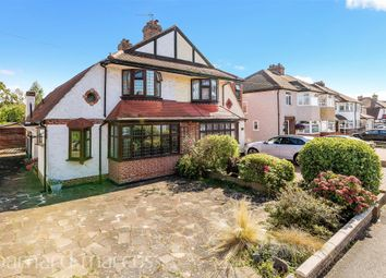 Thumbnail 3 bed semi-detached house for sale in Waverley Road, Stoneleigh, Epsom