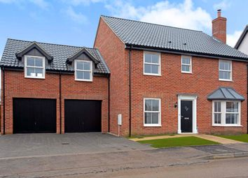 Thumbnail 5 bedroom detached house for sale in Poppy Way, Gislingham