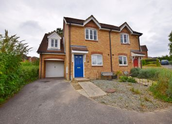 Thumbnail 3 bed semi-detached house to rent in Forest Avenue, Orchard Heights, Ashford